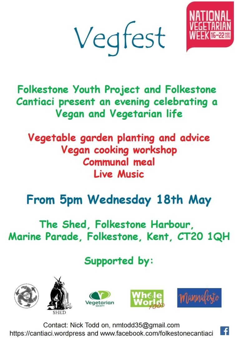 Folkestone, Cantiaci, Community, Transition Town, Vegfest, vegetarian, vegan, sustainable, living