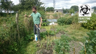 Folkestone, Cantiaci, Folkestone Cantiaci, Community, Transition Town, Allotment, Organic, Vegetables