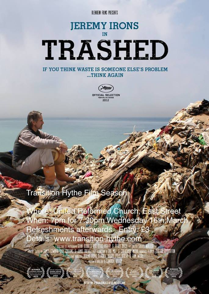 Folkestone, Cantiaci, Folkestone Cantiaci, Community, Transition Town, Trashed, Documentary, Jeremy Irons, Folkestone in transition, Hythe in transition