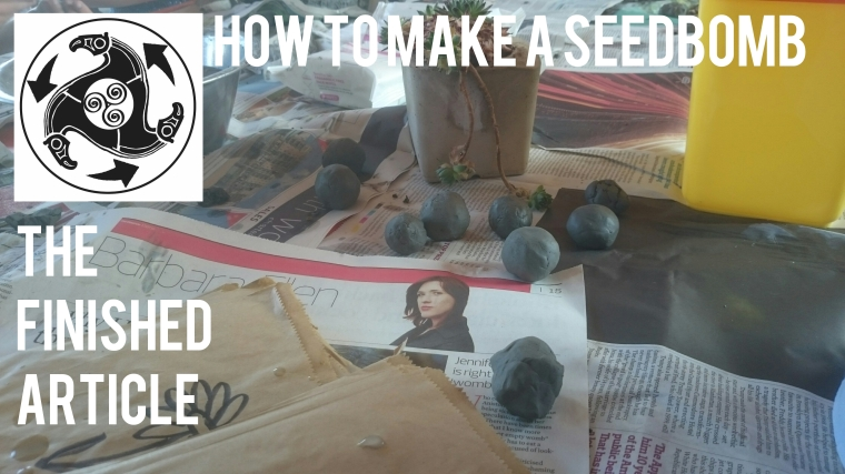 Folkestone, Cantiaci, Community, Transition Town, Folkestone Cantiaci, Seedbomb, Seed Bomb, How To