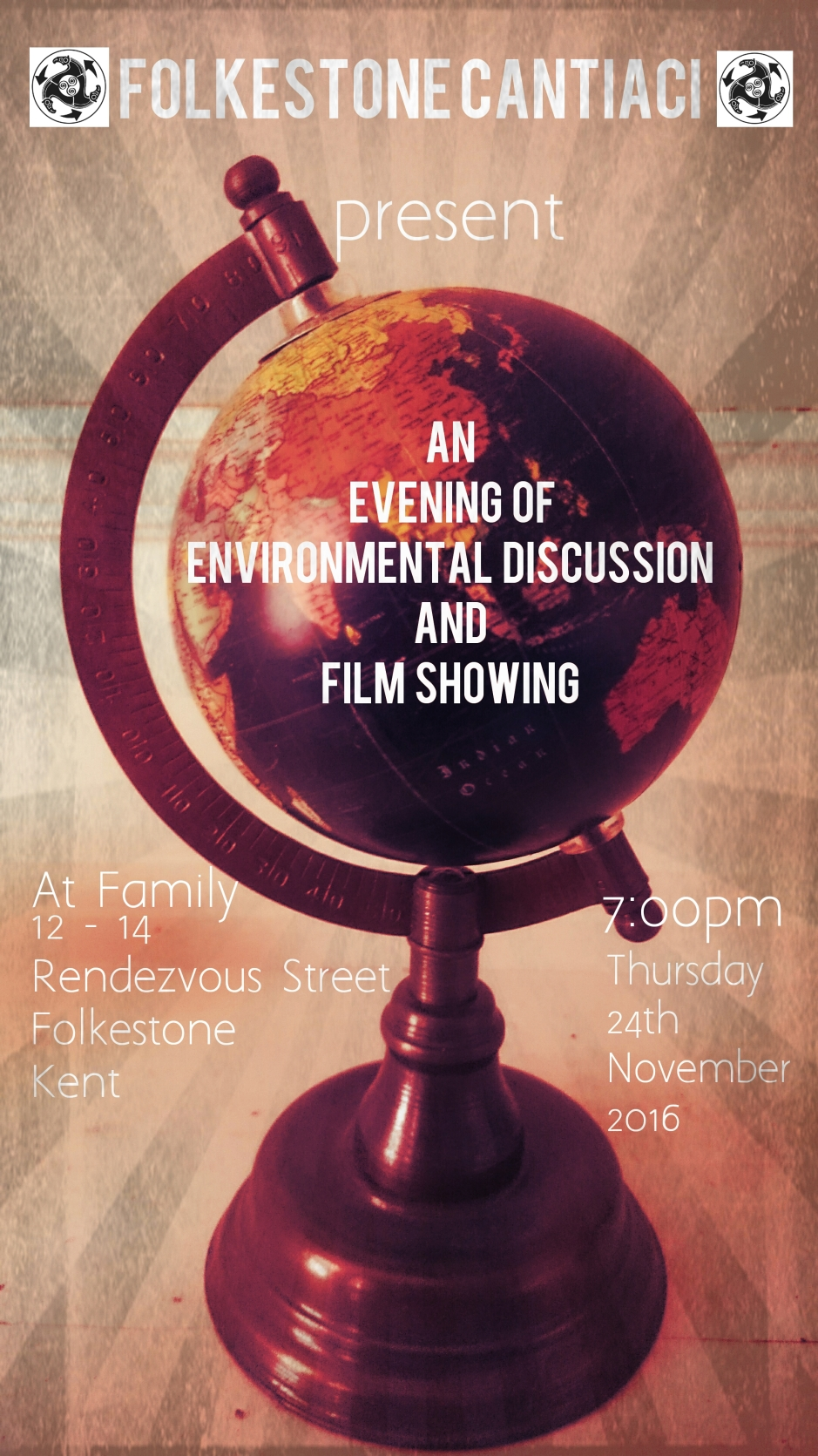 Folkestone Cantiaci, Folkestone, Cantiaci, Community, Transition Town, Event, Family, Environmental, Environment, Discussion, Film Showing